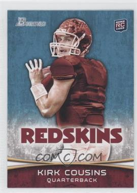 2012 Bowman Signatures #145.2 - Kirk Cousins (Facing Right/Licking Lips)
