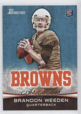 2012 Bowman Signatures #161 - Brandon Weeden