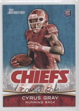 2012 Bowman Signatures #165.2 - Cyrus Gray (Red Jersey)