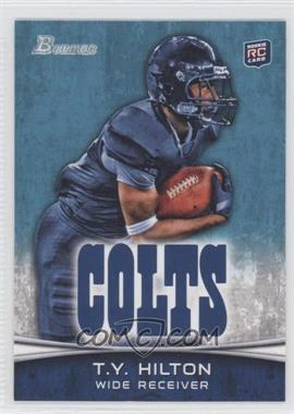 2012 Bowman Signatures #172.2 - T.Y. Hilton (L.Arm not visible)