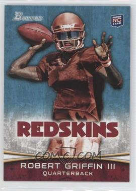 2012 Bowman Signatures #200.1 - Robert Griffin III (Throwing)