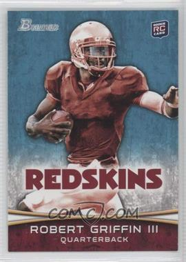 2012 Bowman Signatures #200.2 - Robert Griffin III (Stiff-Arming)