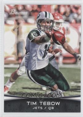 2012 Bowman Signatures #TT-SP - Tim Tebow