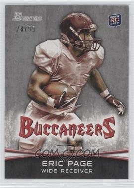 2012 Bowman Silver #141 - Eric Page /99