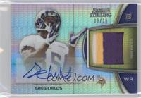 Greg Childs /36