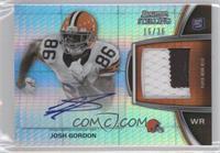 Josh Gordon /36