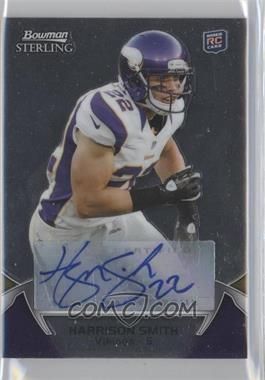 2012 Bowman Sterling Certified Autograph [Autographed] #104 - Harrison Smith
