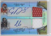 Cyrus Gray, Chris Rainey /110