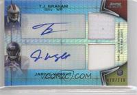 T.J. Graham, Jarius Wright /110