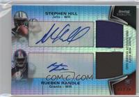 Stephen Hill, Rueben Randle /20