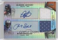 Alshon Jeffery, Ryan Broyles /110