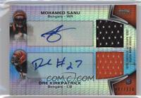 Mohamed Sanu, Dre Kirkpatrick /110