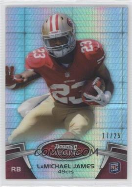 2012 Bowman Sterling Prism Refractor #76 - LaMichael James /25