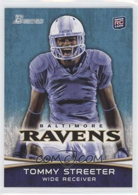 2012 Bowman #114.2 - Tommy Streeter (Mouth Open)
