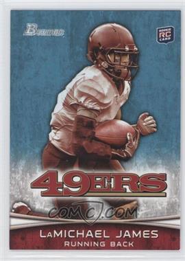 2012 Bowman #132.1 - LaMichael James (White Jersey)