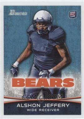 2012 Bowman #137.1 - Alshon Jeffery (Facing Front)