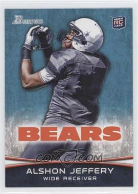 2012 Bowman #137.2 - Alshon Jeffery (Facing Back - Looking For Ball)