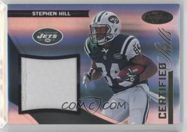 2012 Certified Certified Skills Materials Prime #9 - Stephen Hill /49