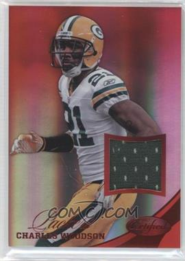 2012 Certified Materials Mirror Red #17 - Charles Woodson /49