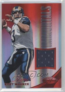 2012 Certified Materials Mirror Red #204 - Kurt Warner /199