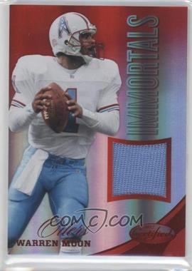 2012 Certified Materials Mirror Red #207 - Warren Moon /199