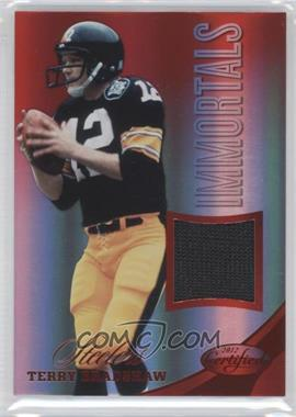2012 Certified Materials Mirror Red #219 - Terry Bradshaw /199