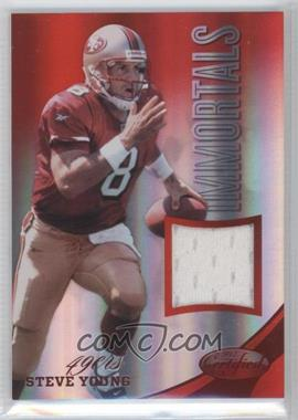 2012 Certified Materials Mirror Red #222 - Steve Young /199