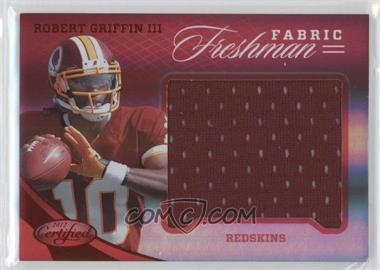 2012 Certified Materials Mirror Red #317 - Robert Griffin III /149