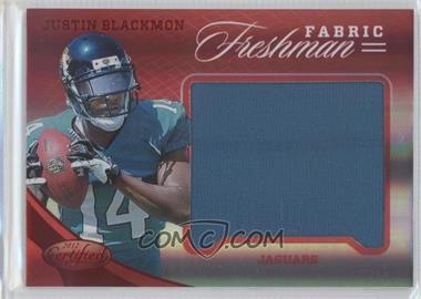 2012 Certified Materials Mirror Red #319 - Justin Blackmon /149