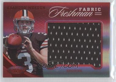 2012 Certified Materials Mirror Red #323 - Brandon Weeden /149