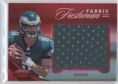 2012 Certified Materials Mirror Red #341 - Nick Foles /149