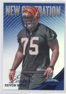 2012 Certified Mirror Blue #266 - Devon Still /100