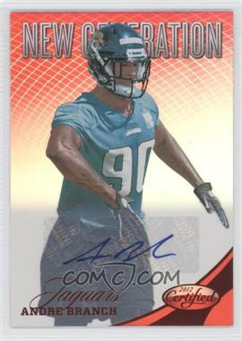 2012 Certified Mirror Red Signatures [Autographed] #252 - Andre Branch /250