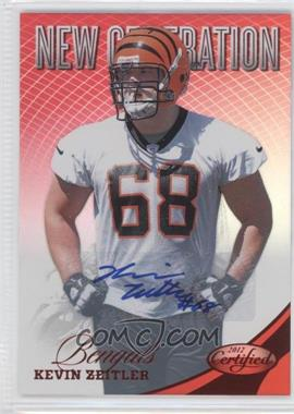 2012 Certified Mirror Red Signatures [Autographed] #281 - Kevin Zeitler /350
