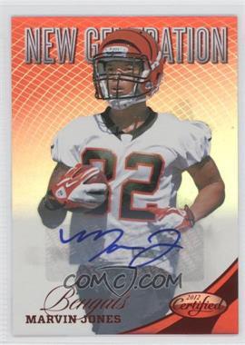 2012 Certified Mirror Red Signatures [Autographed] #289 - Marvin Jones /350