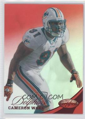 2012 Certified Mirror Red #12 - Cameron Wake /250