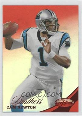 2012 Certified Mirror Red #121 - Cam Newton /250