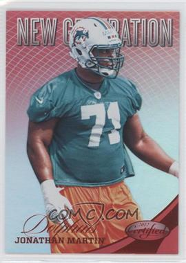 2012 Certified Mirror Red #277 - Jonathan Martin /250