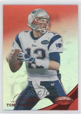 2012 Certified Mirror Red #4 - Tom Brady /250