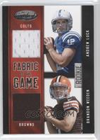 Andrew Luck, Brandon Weeden /149