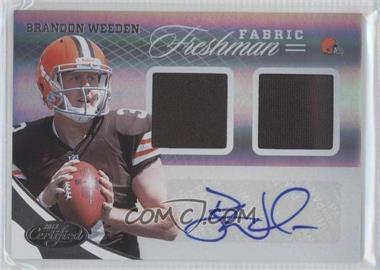 2012 Certified #323 - Brandon Weeden /299