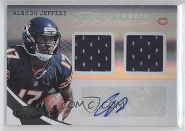 2012 Certified #327 - Alshon Jeffery /499