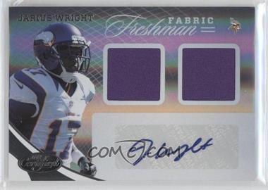 2012 Certified #350 - Jarius Wright /499