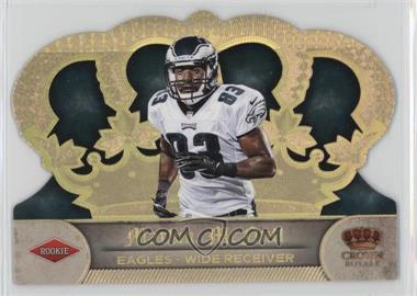 2012 Crown Royale - [Base] - Gold Holo-Foil #214 - Marvin McNutt /99