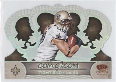 2012 Crown Royale - [Base] - Silver Holo-Foil #100 - Jimmy Graham /149