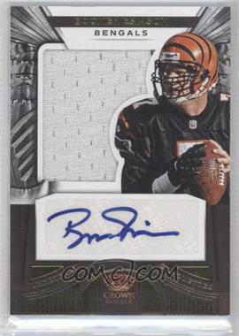 2012 Crown Royale - Legendary Silhouette Materials Signatures #7 - Boomer Esiason /49
