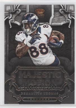 2012 Crown Royale - Majestic Motion #12 - Demaryius Thomas