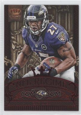 2012 Crown Royale - NFL Regime - Red #1 - Ray Rice /100