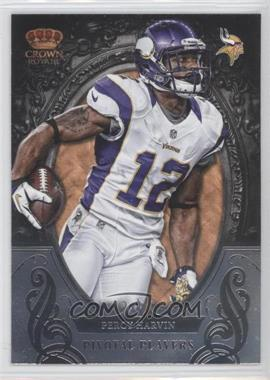 2012 Crown Royale - Pivotal Players #17 - Percy Harvin
