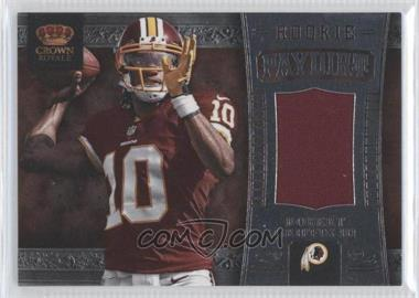2012 Crown Royale - Rookie Paydirt Materials #26 - Robert Griffin III /149